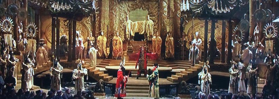 Franco Zeffirelli's production of Giacomo Puccini's Turandot at The Metropolitan Opera - Photo: The Metropolitan Spirit